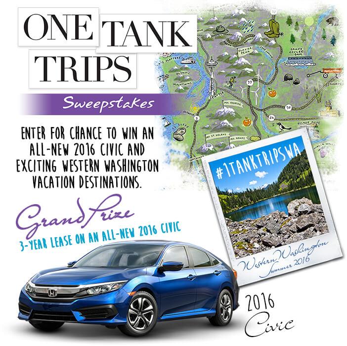 2016 One Tank Trips